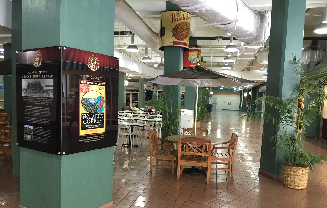 Coffee Shop at Dole - Retail Displays