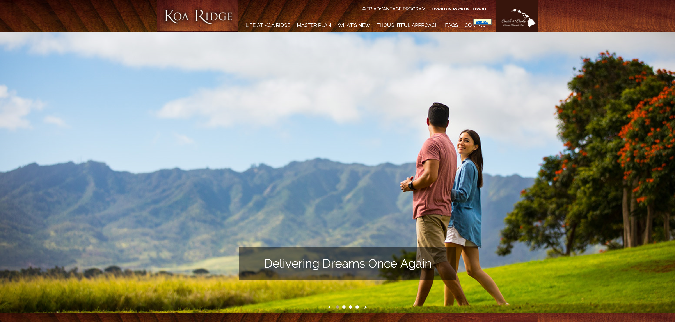 Koa Ridge Home Page 1