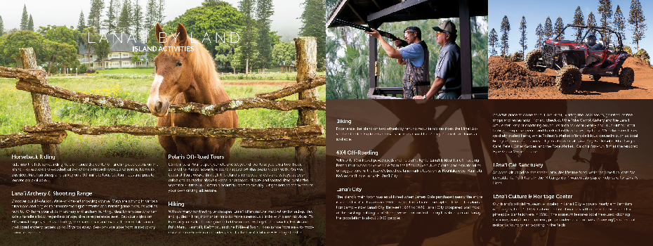 Four Seasons Lanai - Brochure Design - Spread 2