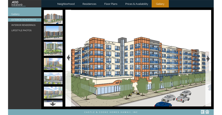 Web Site Design, Web Development, Team Vision Marketing, 3D Exterior, 3D Renderings