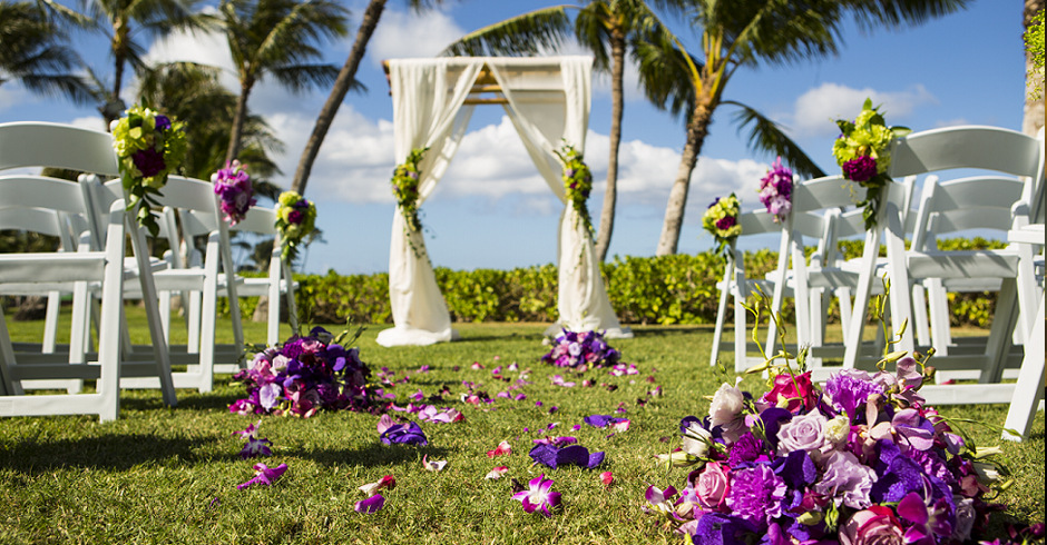 Paradise Cove, Koolina, Beach, Wedding Photography, Wedding Photoshoot, Branding, Aisle Decor