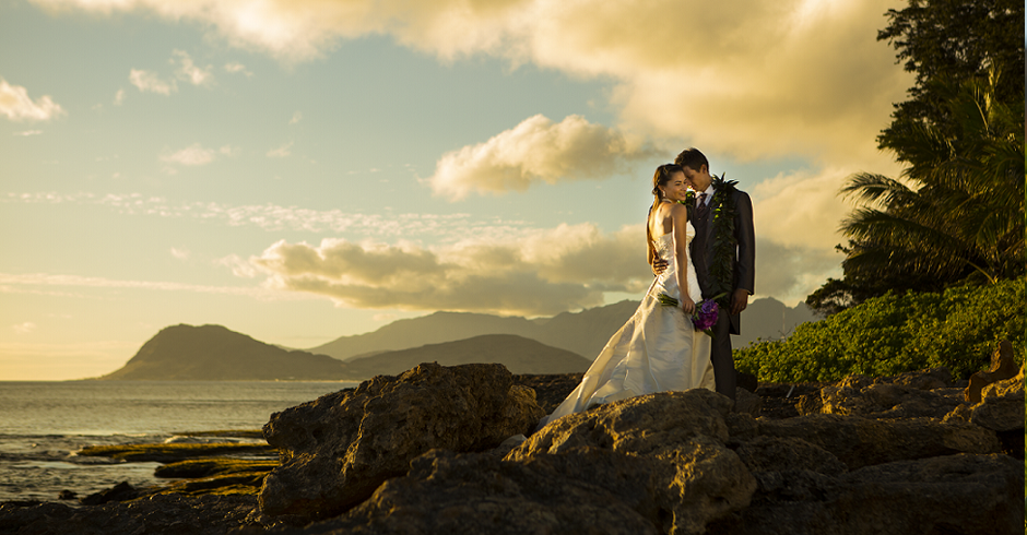 Paradise Cove, Koolina, Beach, Wedding Photography, Wedding Photoshoot, Branding, Sunset Beach Wedding