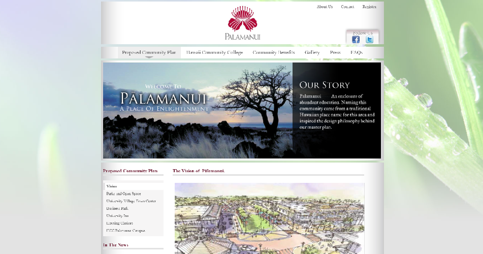 Big Island, Palamanui, Luxury Real Estate, Web Site Design, Web Design