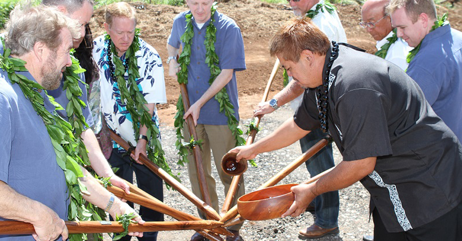Wailele Ridge Maui Blessing and Groundbreaking Event