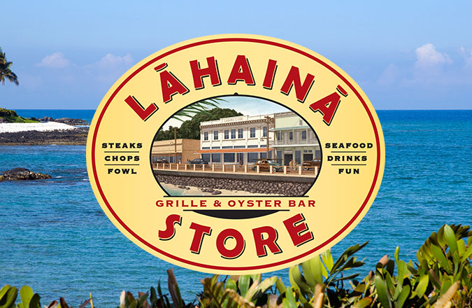 Hawaii Branding, Logo Design, Logo Designers, Lahaina Store Grille, Maui, Hawaii, Graphic Design, Team Vision Marketing