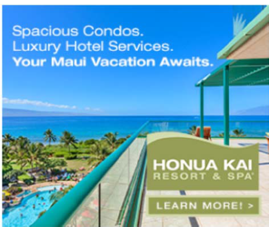 Advertising, Marketing, Online Banner Ads, Honua Kai