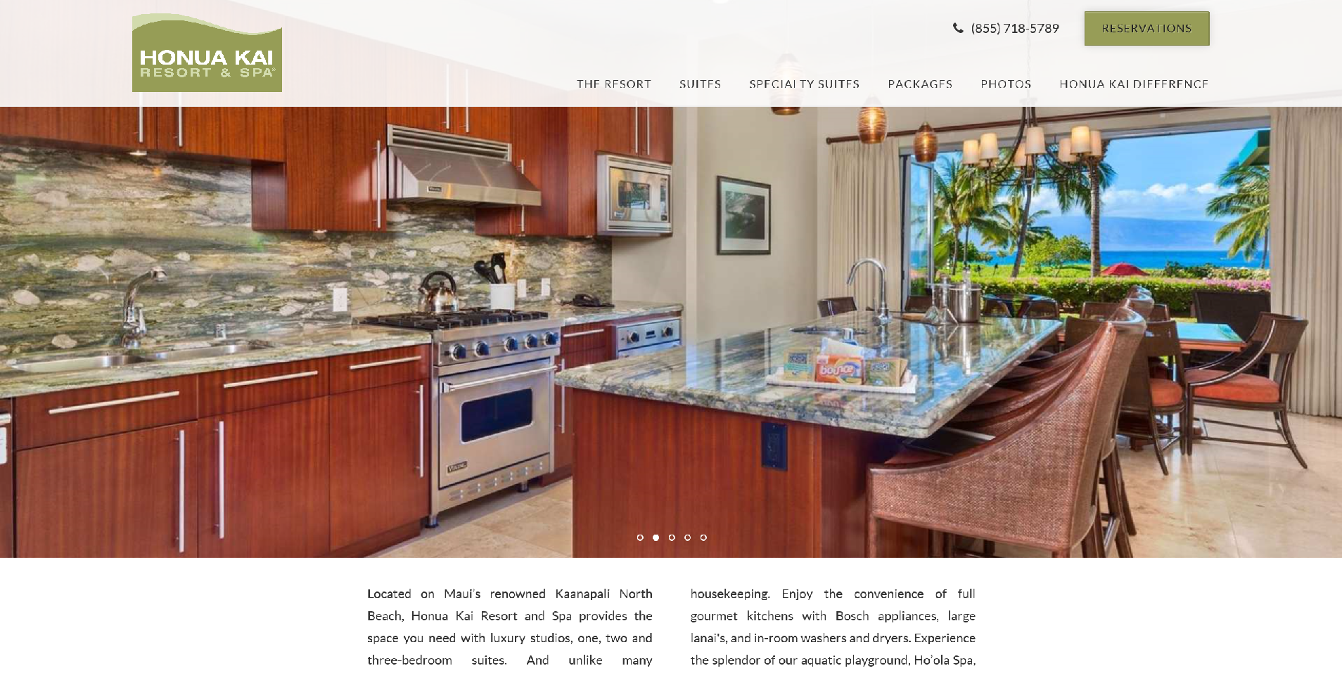 Honua Kai Resort, Web Site, Design, Team Vision, Marketing, Advertising, Honolulu, Hawaii