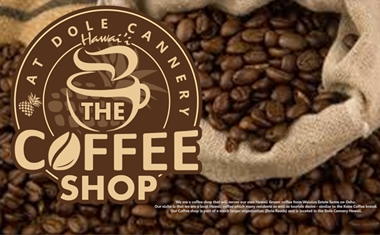 Hawaii Logo Design, Hawaii Branding, Brand identity, The Coffee Shop at Dole Cannery