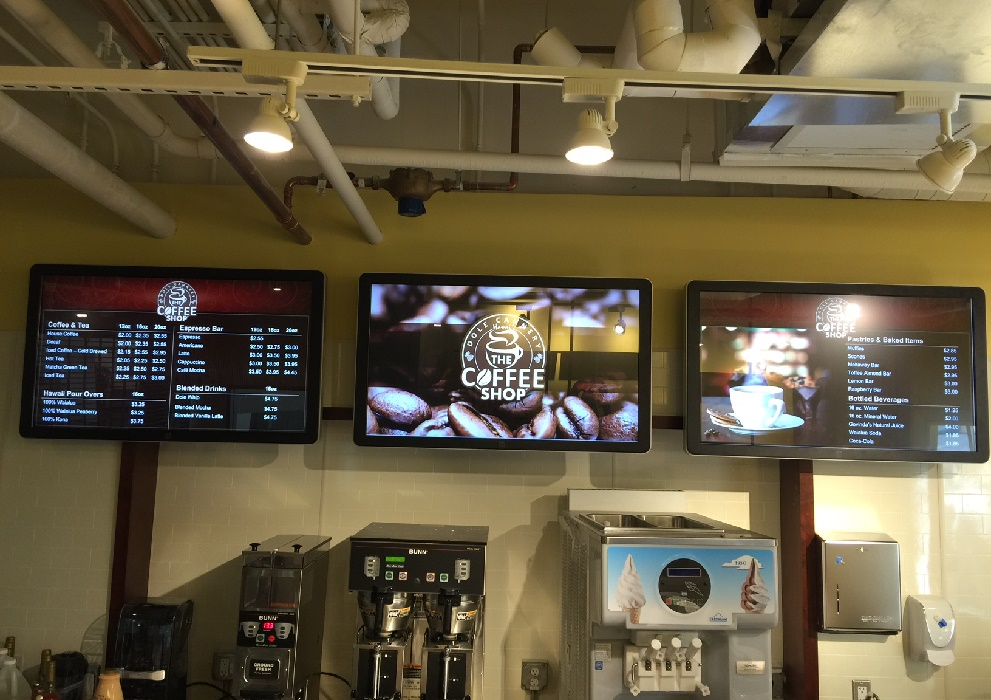The Coffee Shop at Dole Cannery Digital Signs
