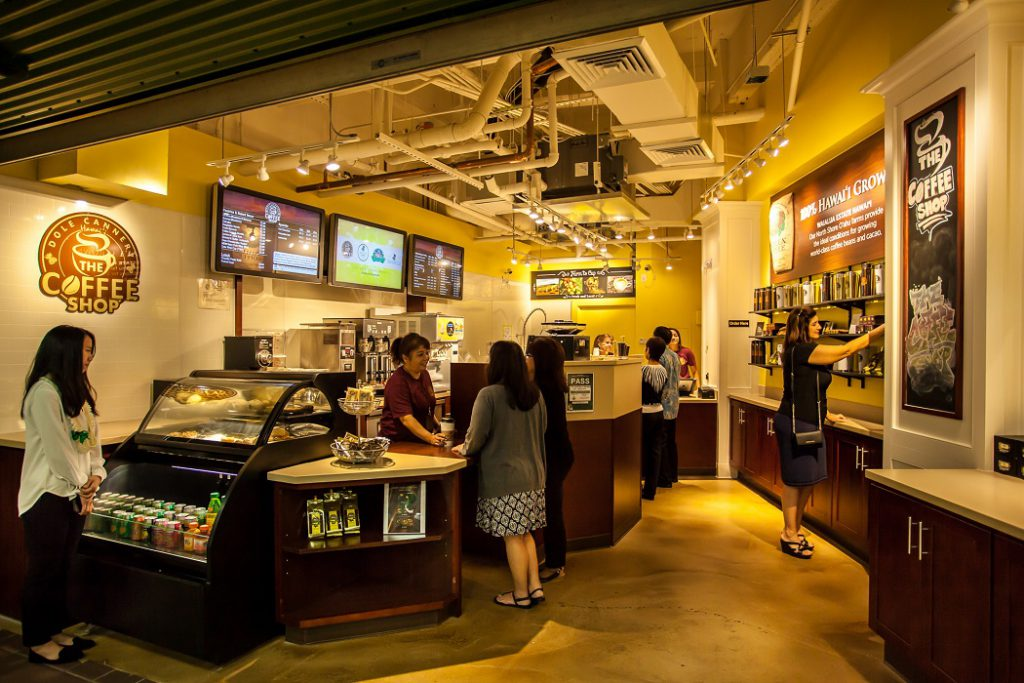 The Coffee Shop at Dole Cannery - Retail Displays