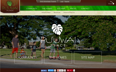 puuwai place, hawaii, real estate, homes, honolulu, advertising, Team Vision ad agency, Honolulu