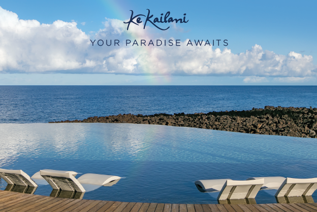 Honolulu, Hawaii, branding, print ad, brand ad, Ke Kailani, Big Island, Kohala Coast, Team Vision Marketing