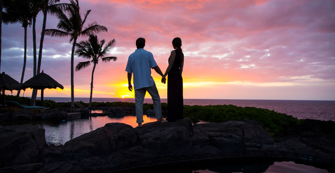 Ke Kailani, Big Island, Kohala Coast, sunset, couple Photography, Photoshoot