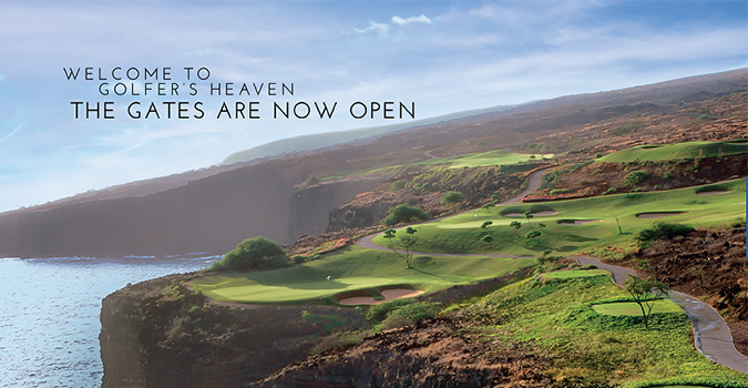 Four Seasons Lanai, Golf Ad, Print Advertising, Lanai, Luxury Resort Marketing