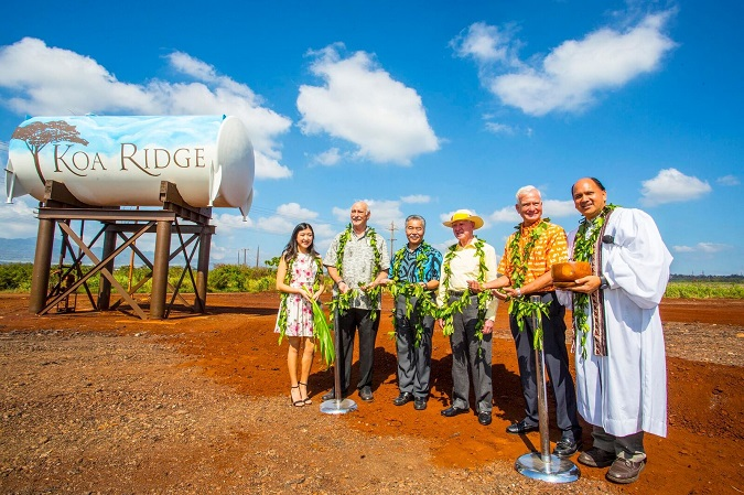 Koa Ridge Groundbreaking Event
