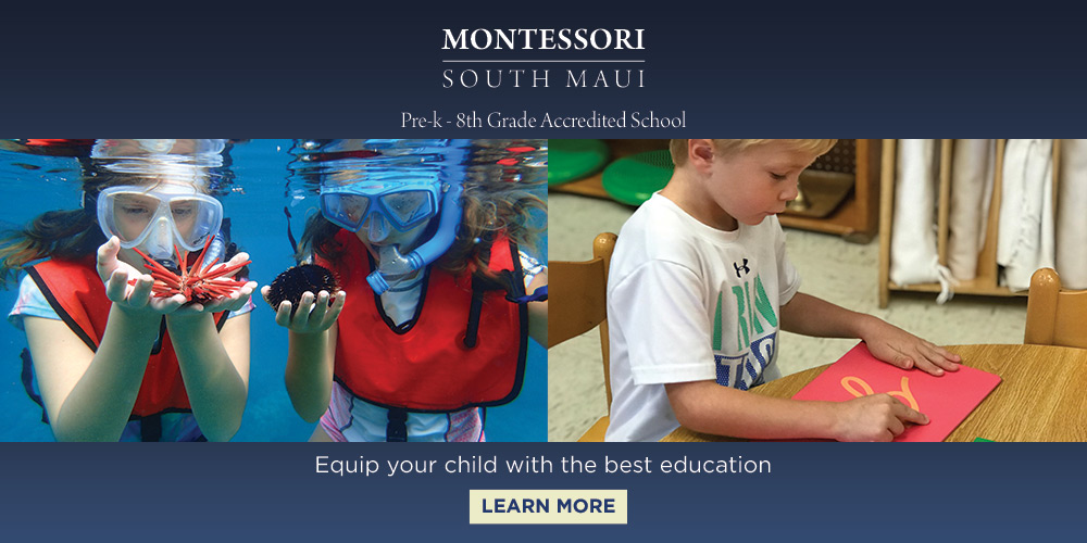 Montessori South Maui, School, Banner Ads,