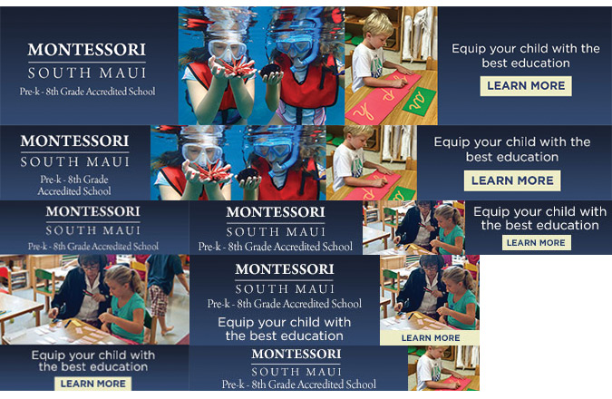 Maui, Montessori School, Client, Team Vision Marketing, Advertising Agency