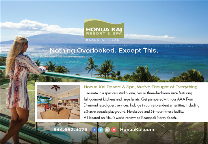 Print Advertising, Advertising, Ad Agency, Hawaii, Honolulu, Honua Kai Resort & Spa