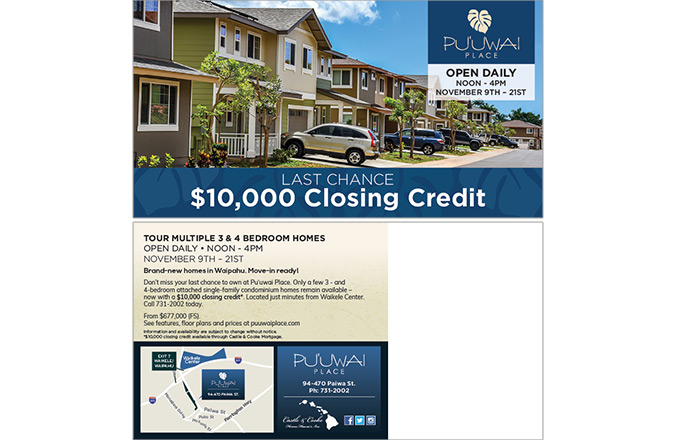 Direct Mail, Puuwai Place, Hawaii Real Estate marketing, Hawaii advertising agencies, Honolulu