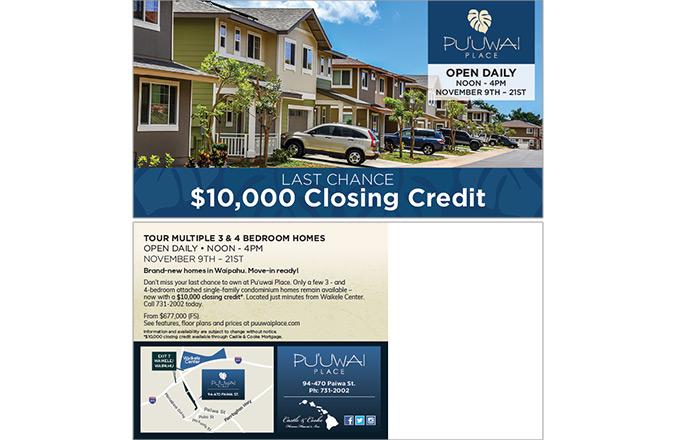 Direct Mail, Puuwai Place, Hawaii Real Estate marketing, Hawaii advertising agency, Honolulu