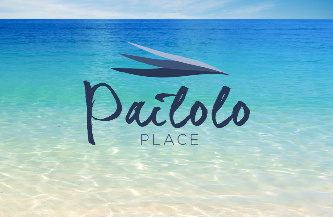 Hawaii Logos, Logo Design, Pailolo Place, Maui, Real Estate, Logo Design, Marketing, Advertising Agency, Team Vision Marketing