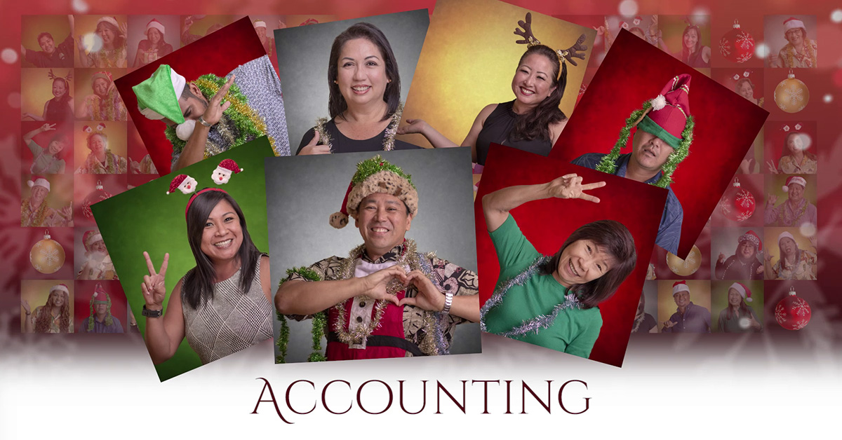 Castle & Cooke Christmas Countdown - accounting