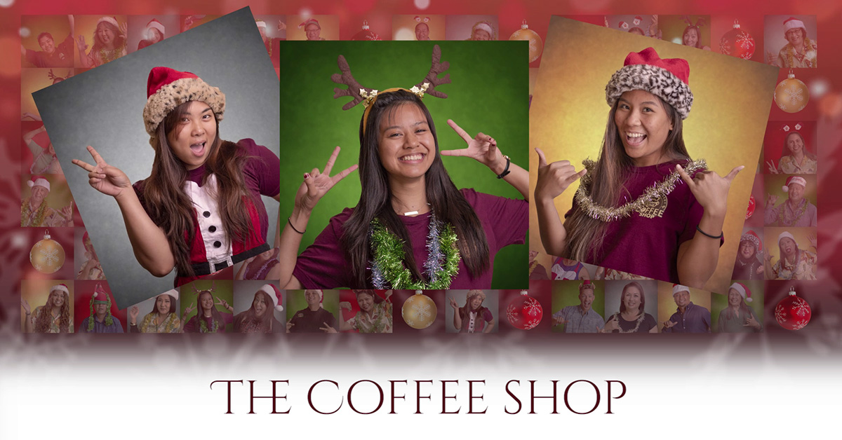 Castle & Cooke Christmas Countdown - coffee shop
