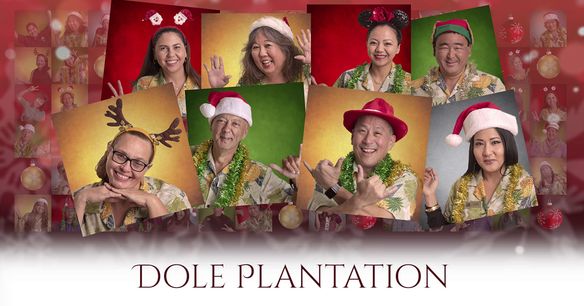 Castle & Cooke Christmas Countdown - dole plantation