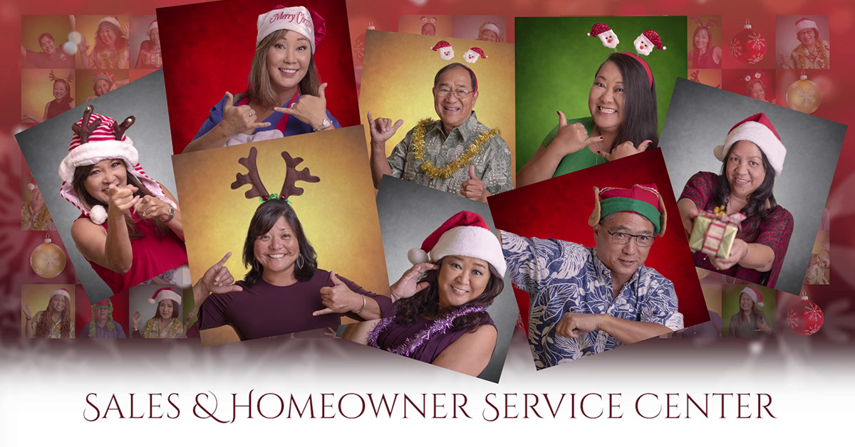 Honolulu social media, Hawaii, social media management, christmas countdown, creative social media, Team Vision Markeitng