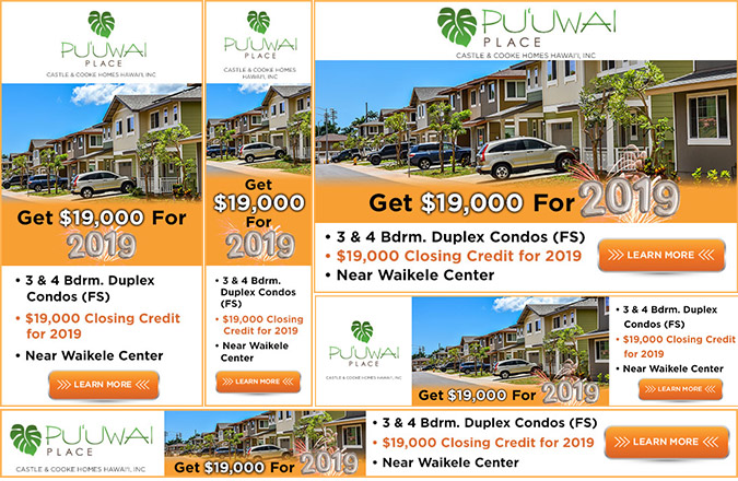 Banner Ads, Google Ads, Digital Marketing, Online Marketing, Team Vision Marketing Agency, Real Estate, Hawaii