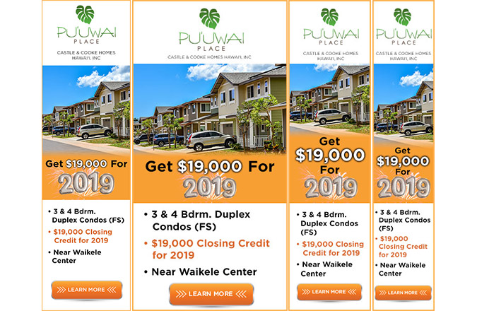 Banner Ads, Google Ads, Digital Marketing, Online Marketing, Team Vision Marketing Agency, Real Estate Marketing, Hawaii