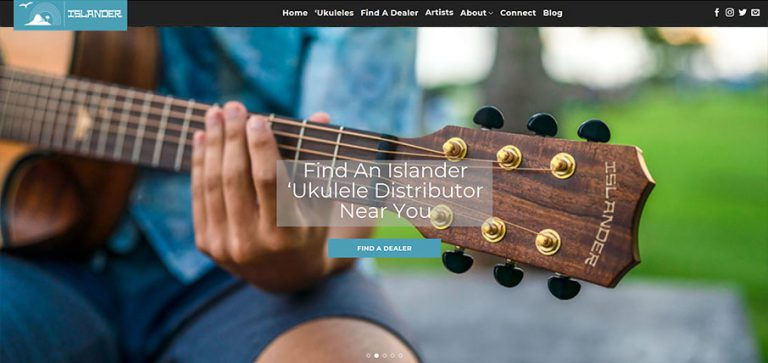 Hawaii Web Design, Honolulu Web Design, Islander Ukulele, ukulele, hawaii, web site design, hawaii advertising agencies
