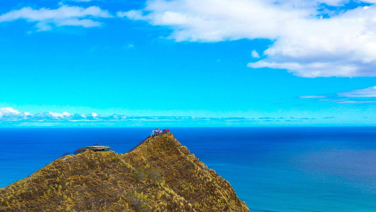 Hawaii Drone Photographer- Diamond Head Peak