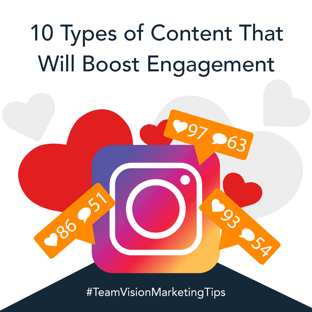 10 Types of Content That Will Boost Engagement