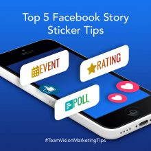 Top 5 Facebook Story Sticker Tips