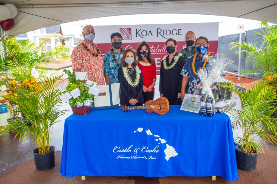 Hawaii Event Marketing - First Koa Ridge Homeowner Move-In Event by Team Vision Marketing